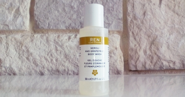REN SCINCARE Grapefruit Body Wash