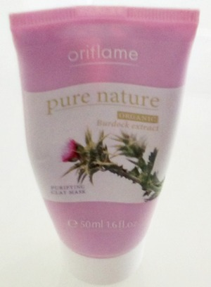 Oriflame pure nature purifying clay mask