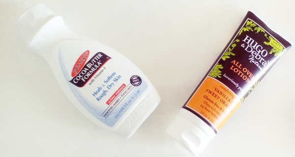 Palmer's, Cocoa Butter Formula και Hugo & Debra Naturals, All Over Lotion, Vanilla & Sweet Orange