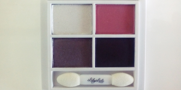 LILY LOLO Pressed Mineral eye shadow – smoky rose