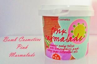Pink Marmelade - Bomb cosmetics shower body polish review
