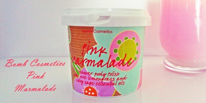 Pink Marmelade - Bomb cosmetics shower body polish review