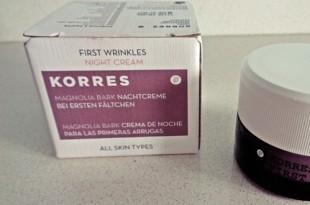 Korres Φλοιός Μανόλιας κρέμα νύχτας - Korres Magnolia