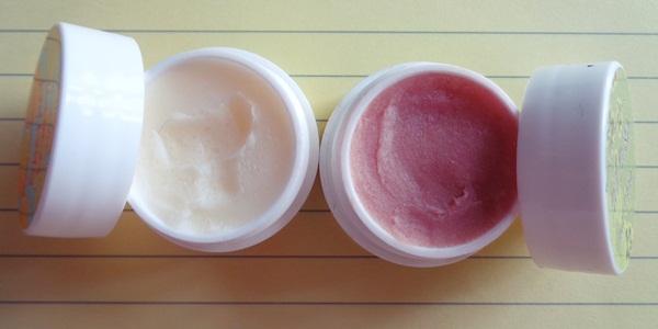 Bomb Cosmetics Lip scrubs - Sherbet Lemon & Pina Colada