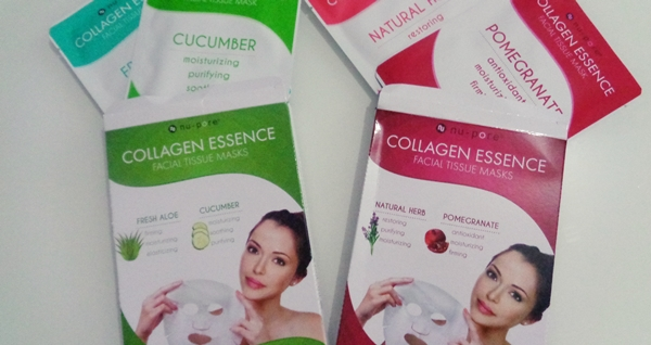 iHerb Haul – Αγορές από το iHerb collagen essence masks