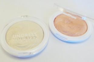 MUA Undress your skin shimmer highlighters (gold & pink)