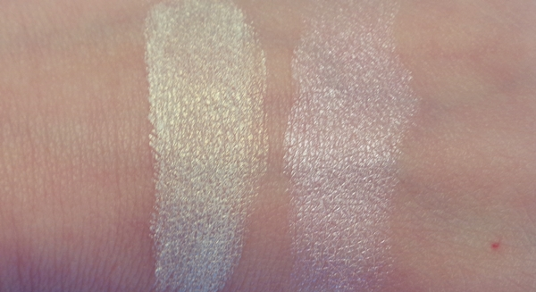 MUA Undress your skin shimmer highlighters swatches