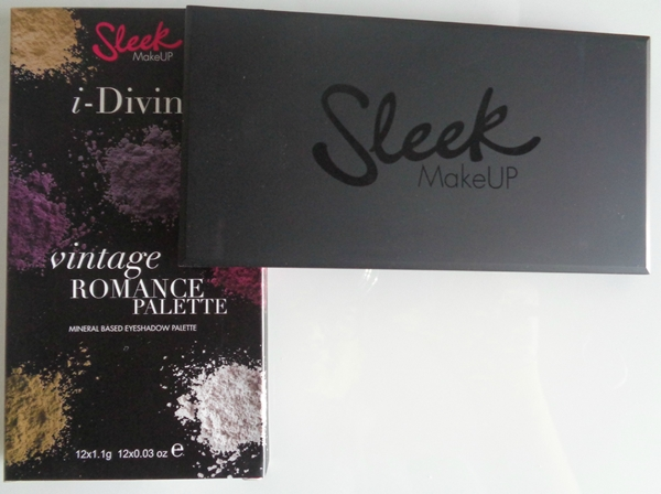 Sleek haul and unboxing - Αγορές από την εταιρεία Sleek vintage romance package