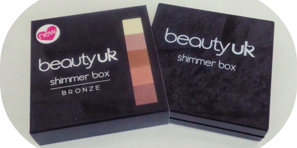 Beauty uk review shimmer box bronze
