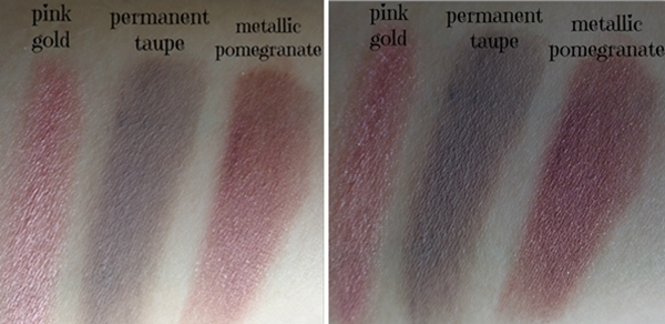 color tatoo swatches