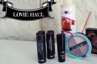 Αγορές από Lovie - Lovie haul (body lotion, ρουζ κραγιόν κ.α.)