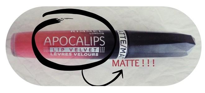 Rimmel Apocalips Matte υγρά κραγιόν review - Atomic Rose