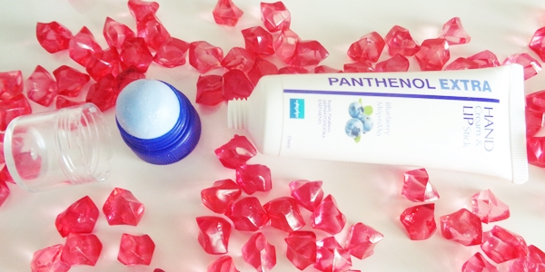 Panthenol Extra Hand Cream & Lip Stick review
