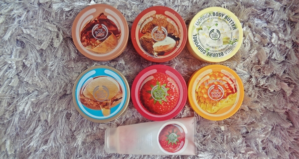 thebodyshop body butters