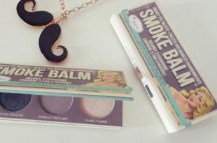 TheBalm SMOKE BALM smokey eye palette review (swatches)