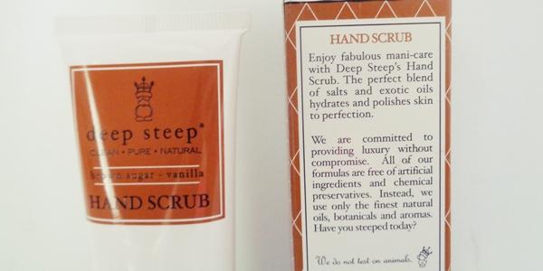 Απολέπιση χεριών - Hand scrubs από την εταιρεία deep steep