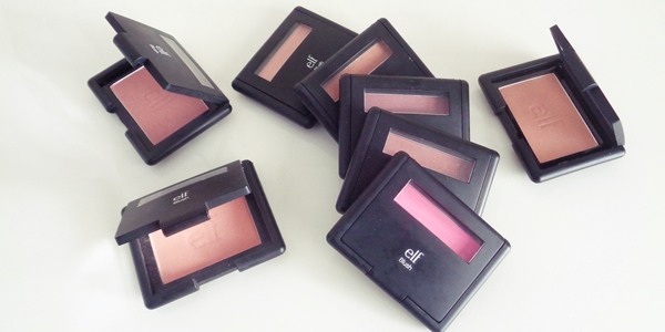 E.l.f. studio line ρουζ κριτική + swatches (e.l.f. blushes review)