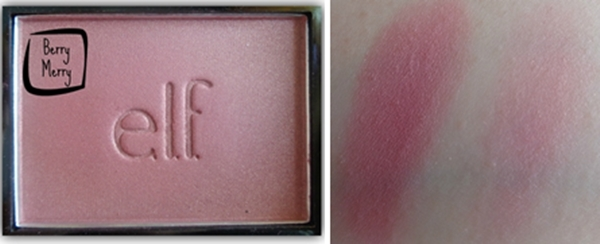 elf blush berry merry swatch