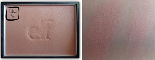 elf blush tickled pink swatch