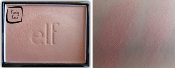 elf blush peachy keen swatch
