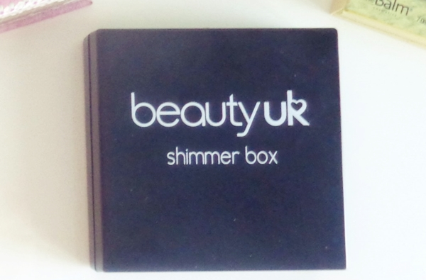 Beauty uk shimmer box BRONZE