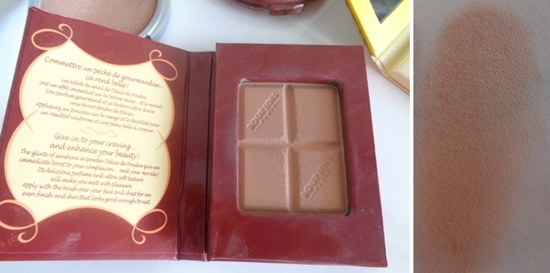 BOURJOIS Bronzing Powder 51 chocolate swatch