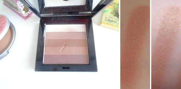 Beauty uk shimmer box BRONZE swatch