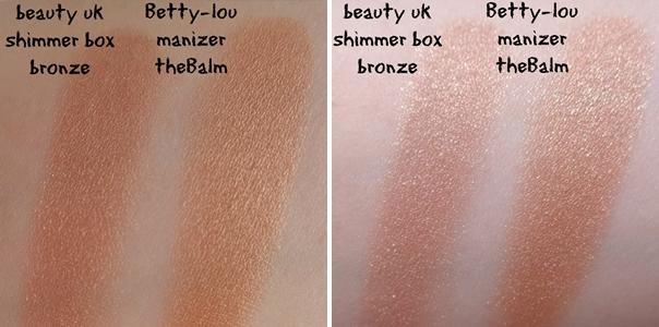 summer bronzers swatches