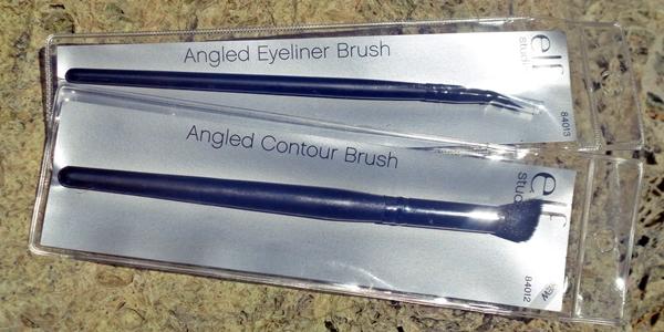 E.L.F. Cosmetics, Studio, Angled Eyeliner Brush, Angled Contour Brush