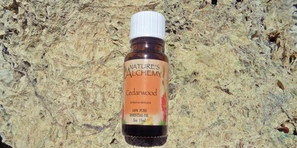 Nature's Alchemy, Cedarwood, Essential Oil