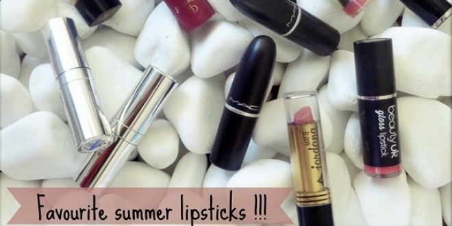 summer lipsticks
