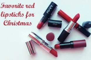 Αγαπημένα κόκκινα κραγιόν για τα Χριστούγεννα (ματ κραγιόν)