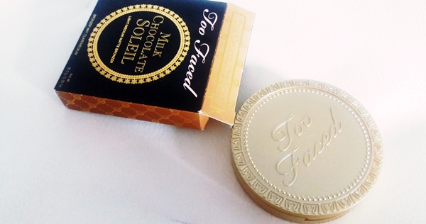 Too Faced Milk Chocolate Soleil light / medium matte Bronzer review