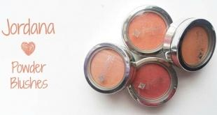 Jordana Powder Blushes - Jordana Ρουζ - coral sandy beach