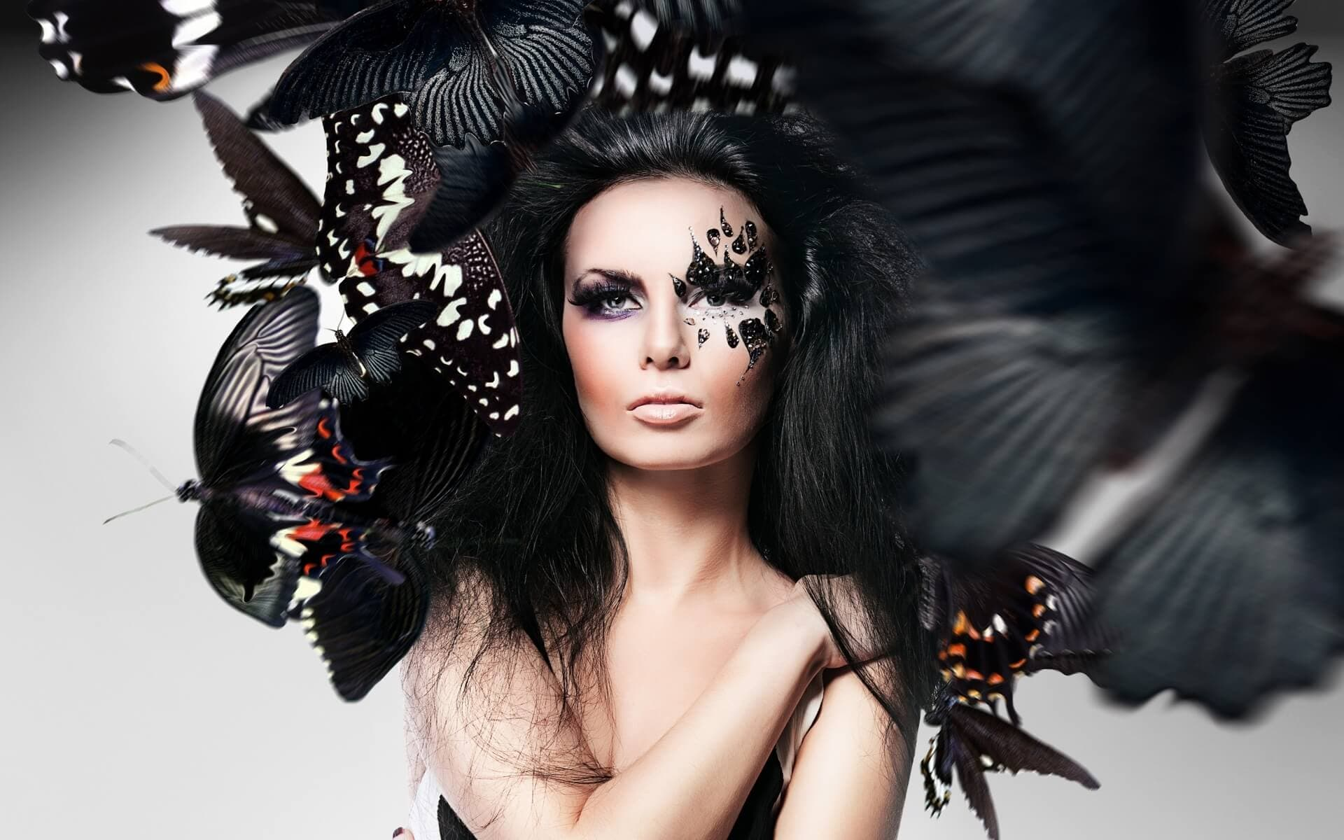 Extreme Makeup. Θεατρικό Μακιγιάζ. Μακιγιάζ για Απόκριες - Makeup trends