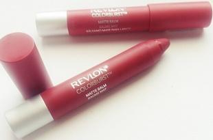REVLON Colorburst Matte Balm - Elusive & Sultry - Review
