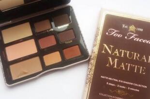 Too Faced Natural Matte Palette - Παλέτα με γήινες ματ σκιές