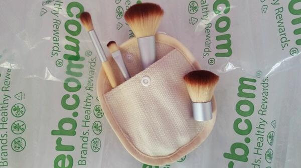 Madre Labs, Madre Labs Five-Piece Cosmetic Mini-Brush Set