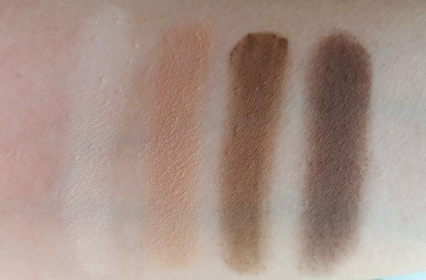 Tartelette Amazonian Clay Matte Palette swatches