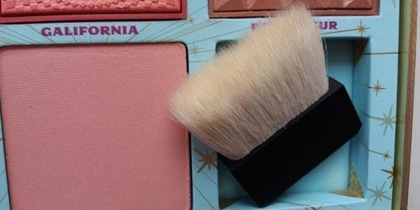 Cheek Parade. benefit brush