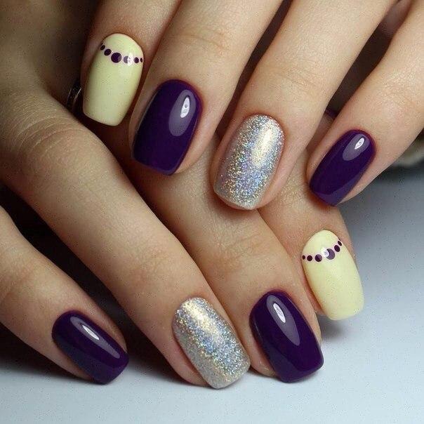 Κοντά νύχια. Short nails. 30 Όμορφες, κομψές ιδέες. Nail art. Photo gallery